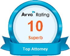 AVVO Rating 10 Superb Top Attorney